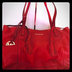 Michael kors Authentic Rare Tote Original Leather